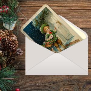 08 - Biglietti di Natale in legno