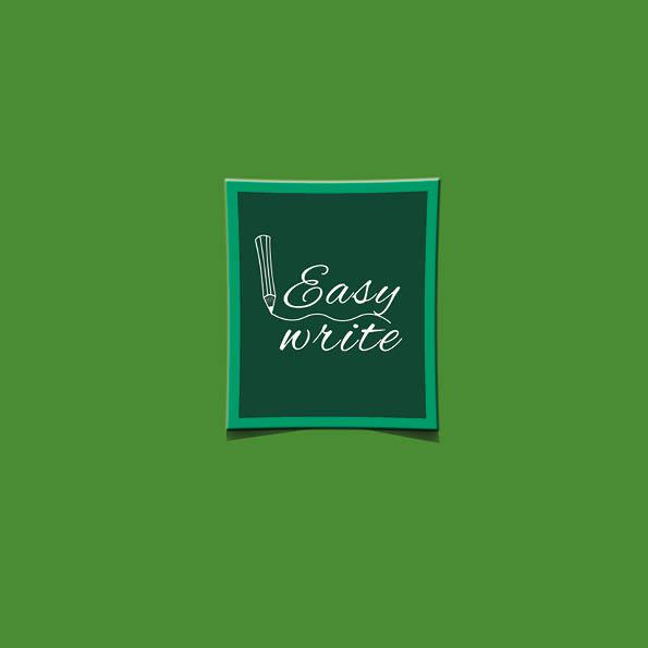 Easy Write cover verde